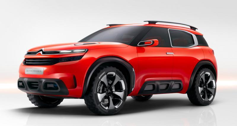 Citroën Aircross Concept : un avant-goût de SUV