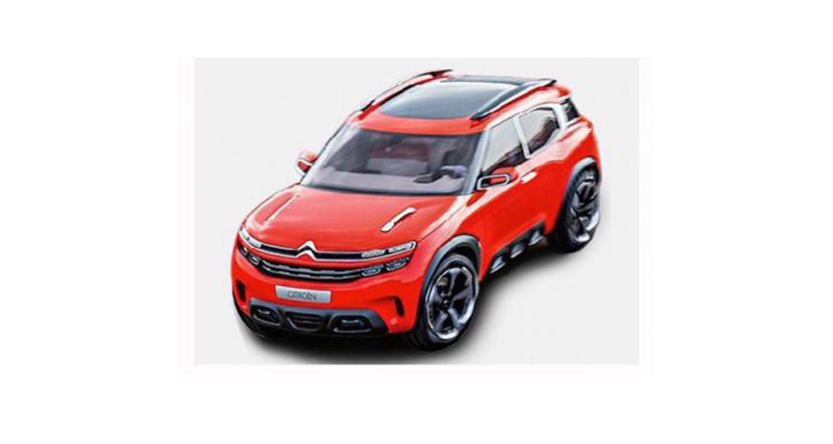 Citroën Aircross concept : première image