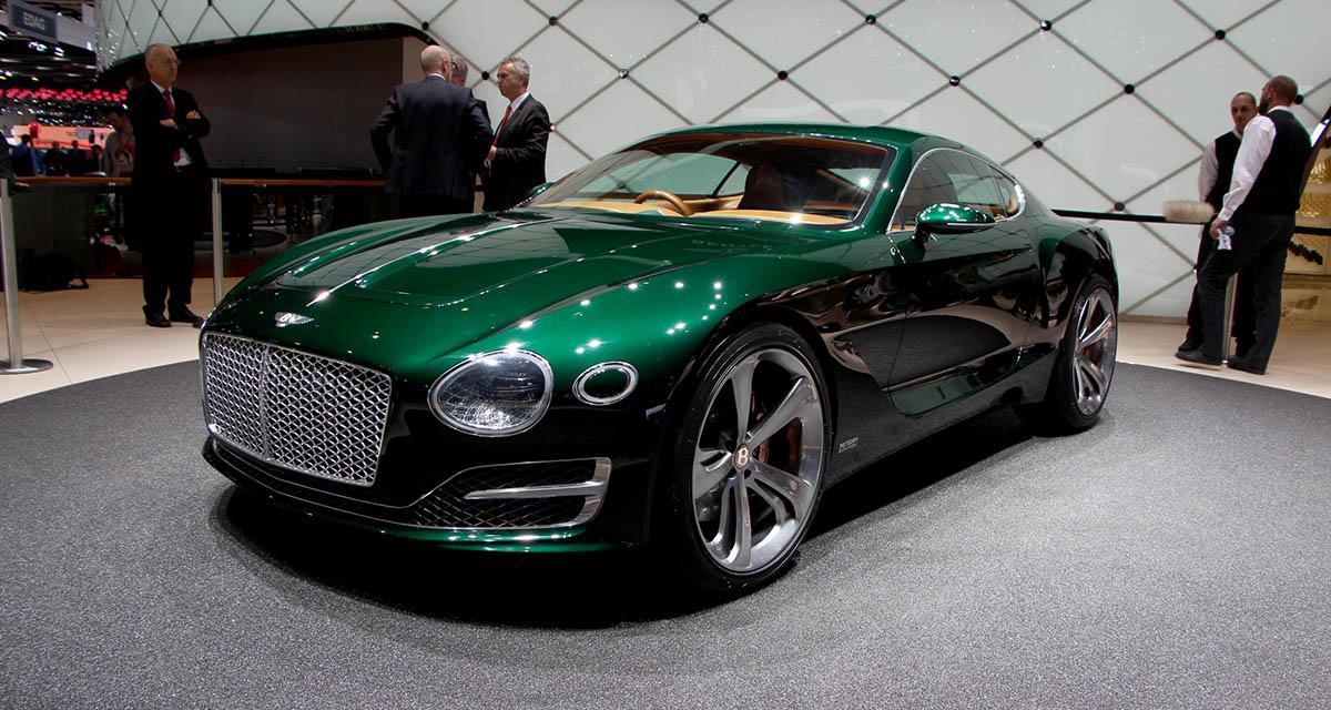 Salon de Genève 2015 : Bentley EXP 10 Speed 6