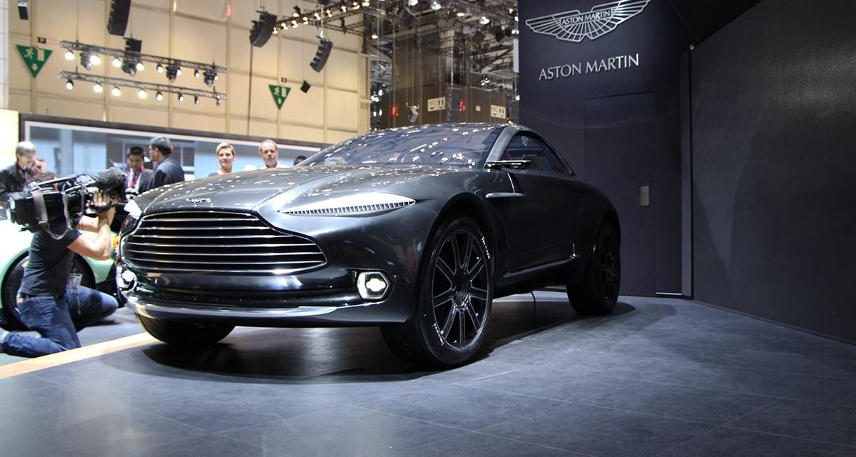 Salon de gen ve 2015 aston martin dbx for Geneve 2015 salon