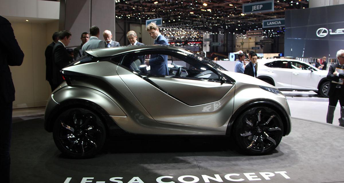 Salon de Genève 2015 : Lexus LF-SA concept