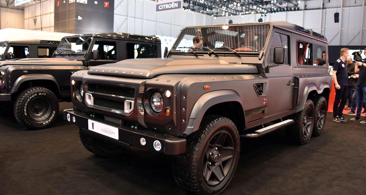 Salon de Genève en direct : Land Rover Defender Flying Huntsman