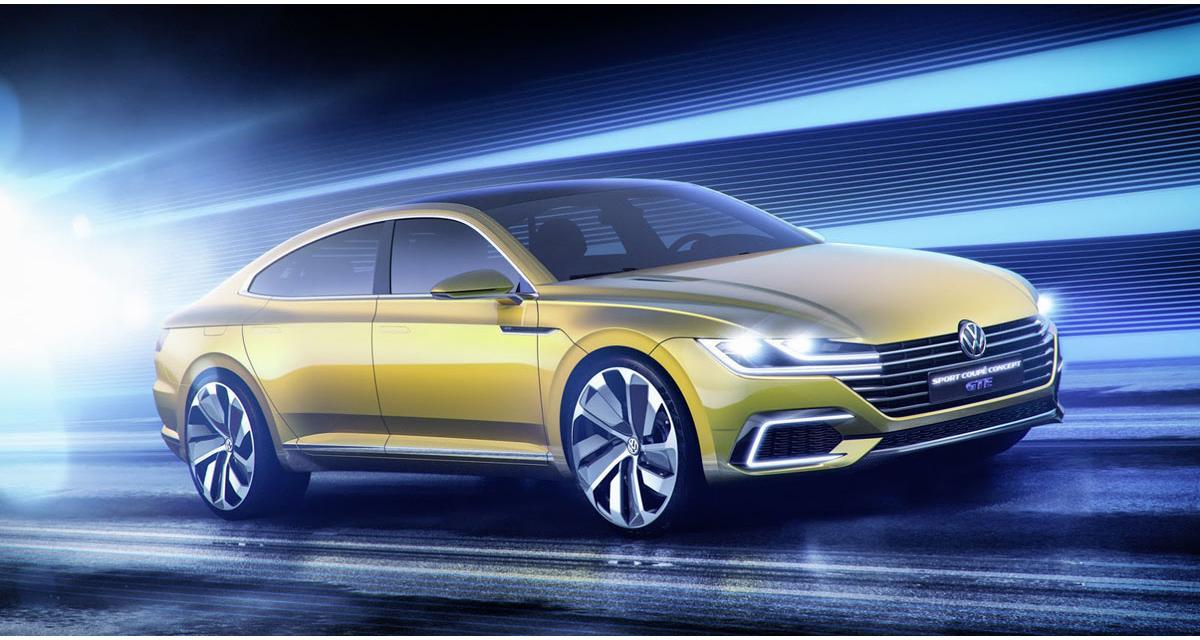 Salon de Genève (en direct) : Volkswagen Sport Coupé GTE Concept