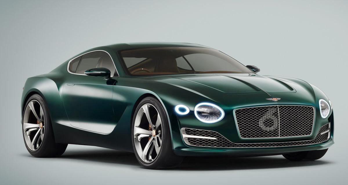 Bentley EXP-10 Speed 6 : la F-Type de Crewe (salon de Genève 2015)