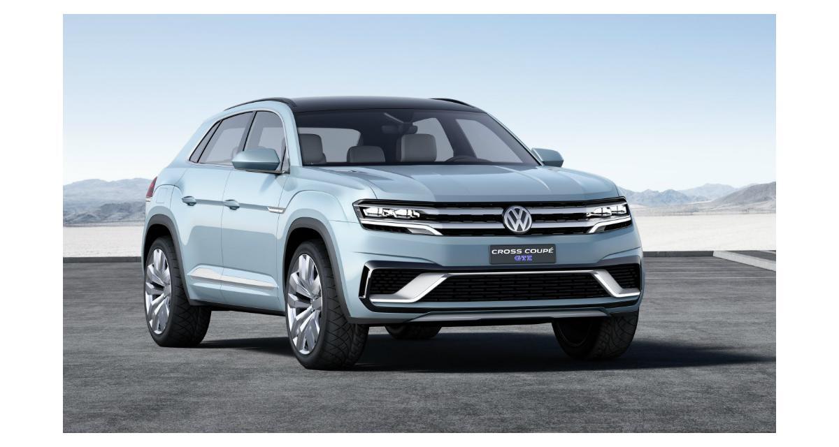 Volkswagen Cross Coupé GTE : un concept de plus