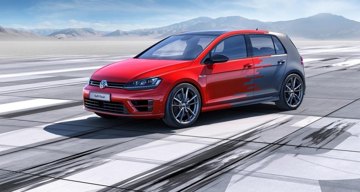 Volkswagen dévoile une Golf R à capteur de mouvements