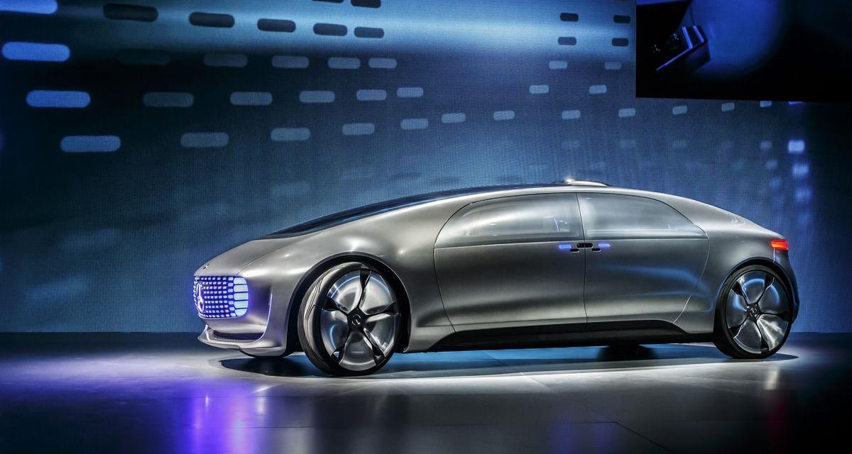 Mercedes F 015 : un concept électrique et autonome