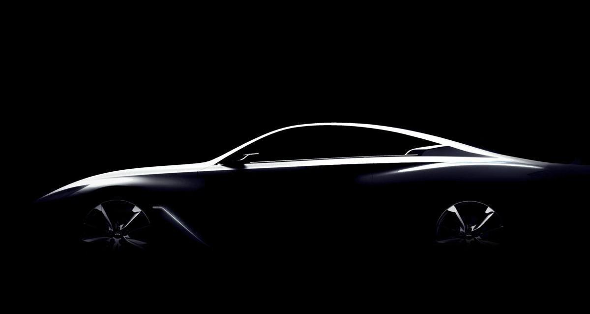 Infinit Q60 Concept : un coupé Q50 en approche