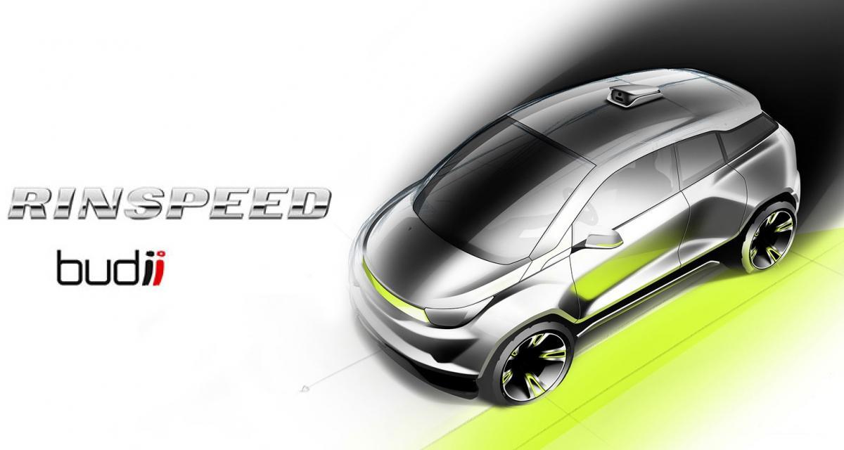 Rinspeed Budii : une BMW i3 autonome pour Genève