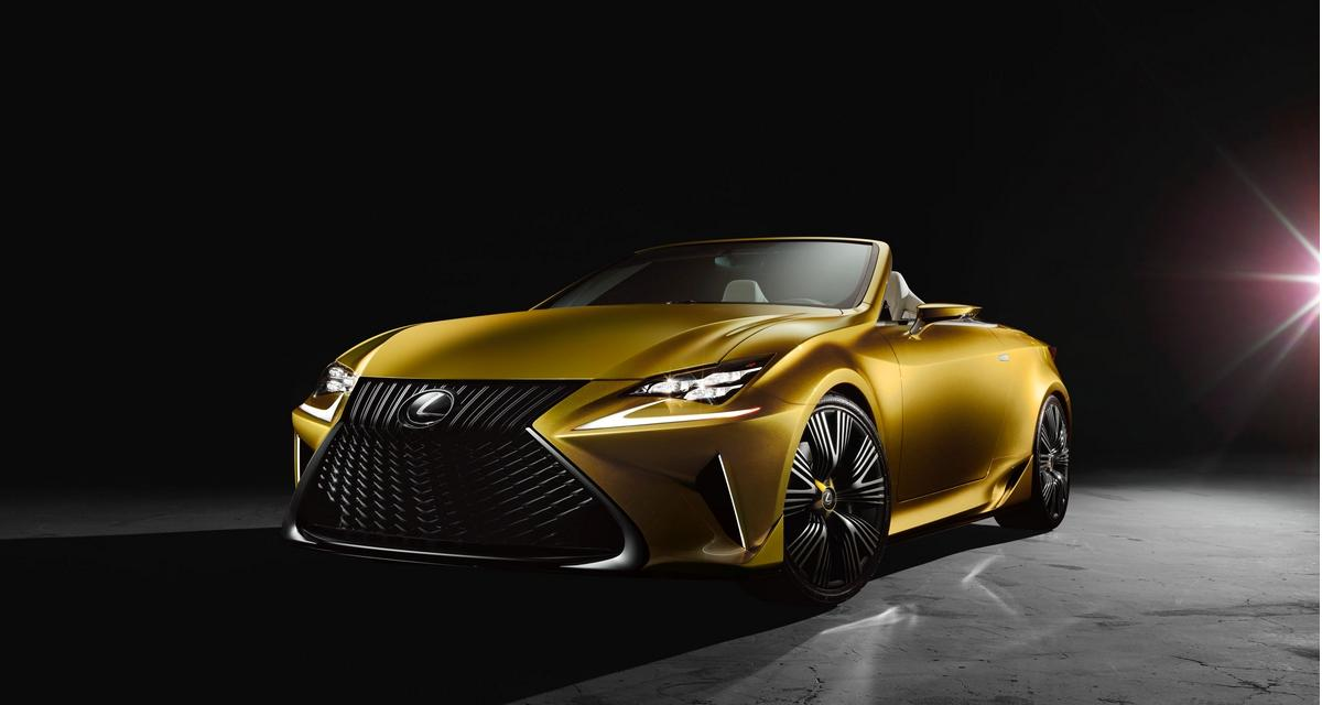 Lexus LF-C2 Concept : un avant-goût de la RC cabriolet