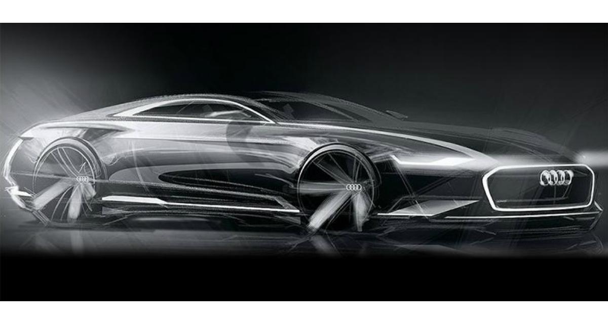 Audi A9 : une première esquisse pour le concept