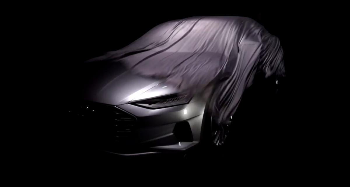 Audi A9 : un aperçu avant le salon de Los Angeles