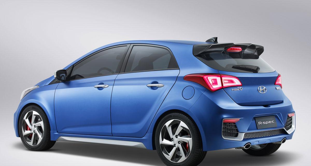 Hyundai HB20 R-Spec Concept : l'i20 du Brésil s'encanaille