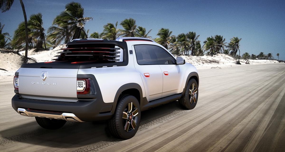 Renault Duster Oroch Concept : un pick-up pour le salon de São Paulo