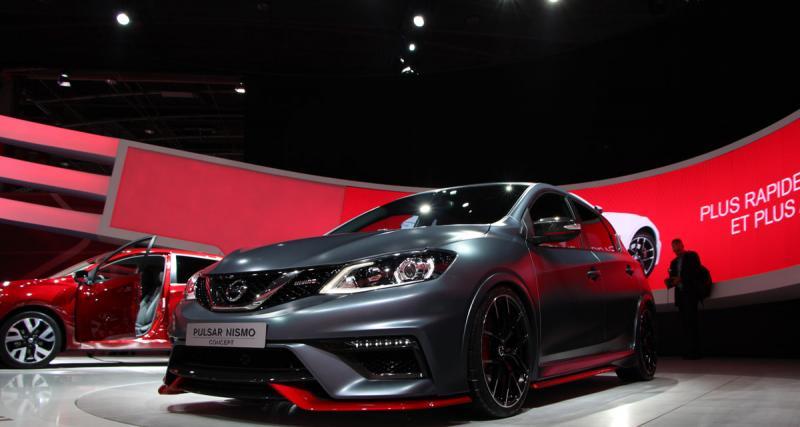 Mondial de l'Automobile 2014 : Nissan Pulsar Nismo Concept