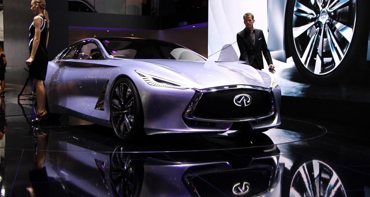 Mondial de l'Automobile 2014 : Infiniti Q80 Inspiration