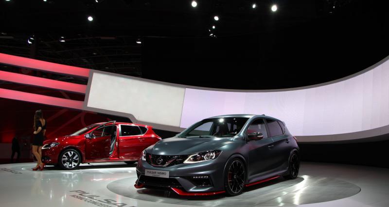Nissan Pulsar Nismo Concept : les photos du Mondial de l'Auto