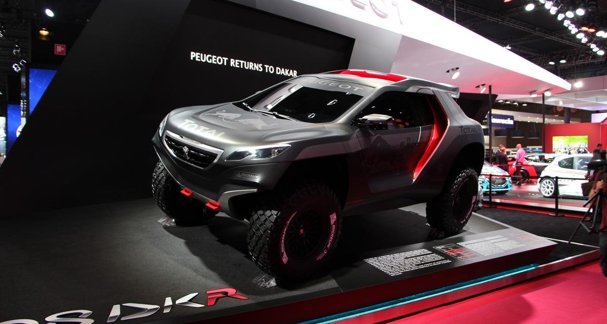 Le Peugeot 2008 DKR en vidéo