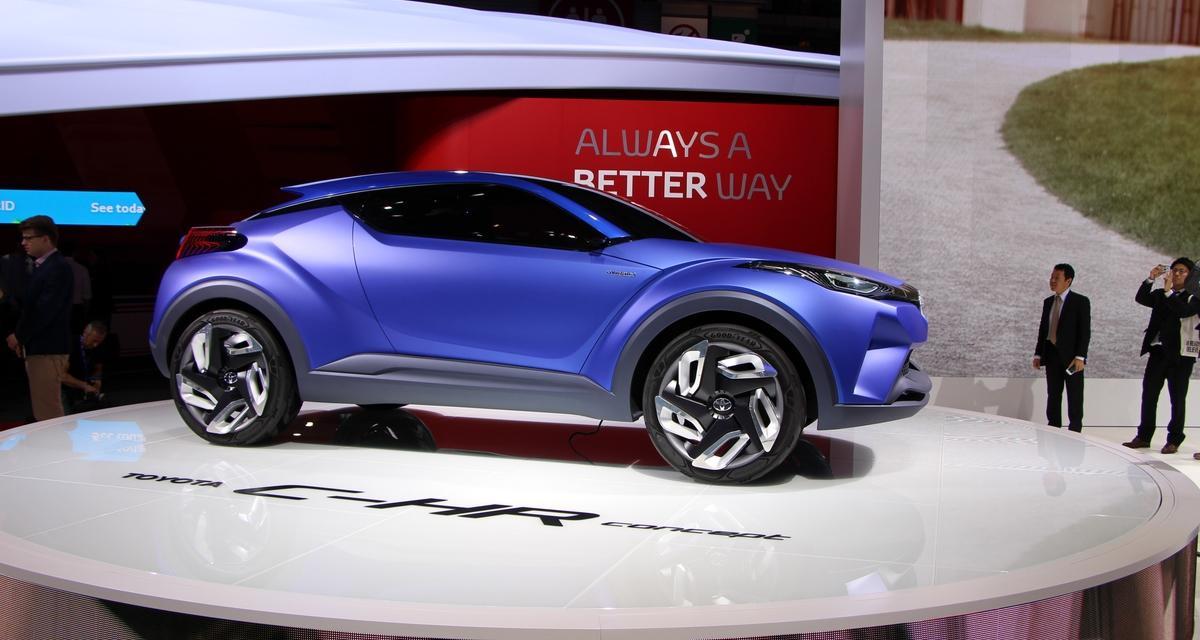 Mondial de l'Auto en direct : Toyota C-HR Concept