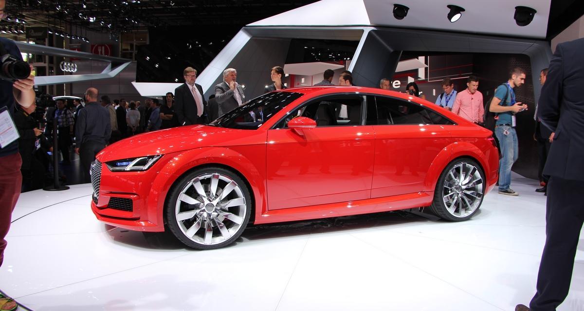 Mondial de l'Auto en direct : Audi TT Sportback Concept (+ vidéo)