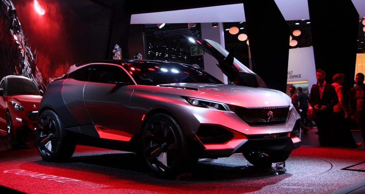 Mondial de l'Auto en direct : Peugeot Quartz Concept (+ vidéo)