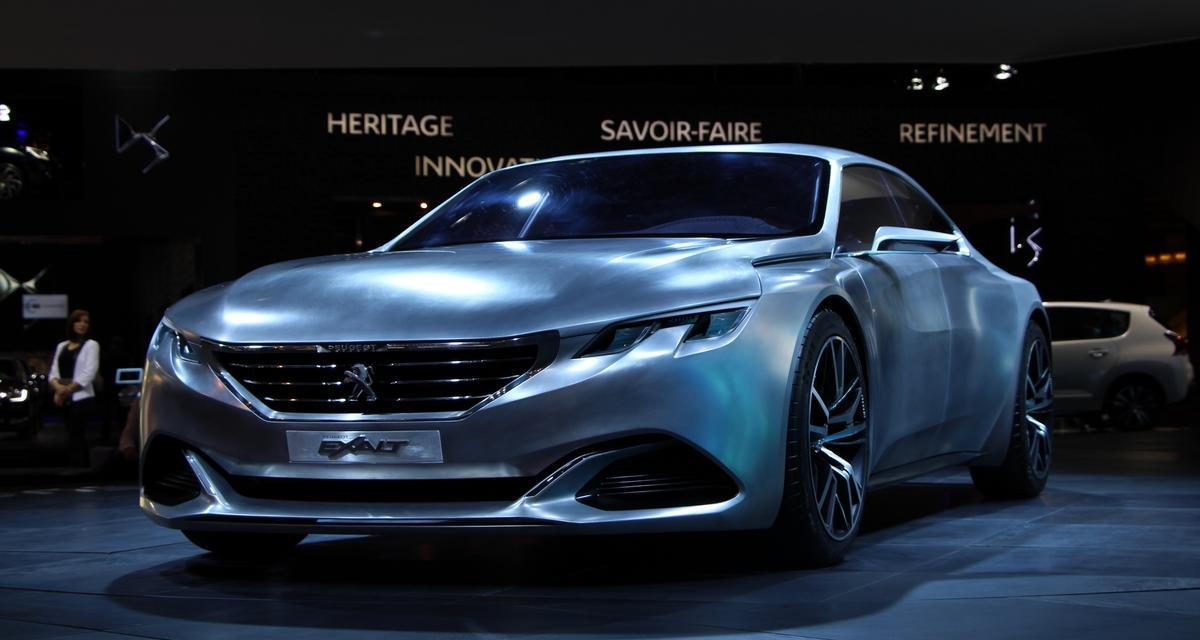 En direct du Mondial de l'Auto : Peugeot Exalt (+ vidéo)