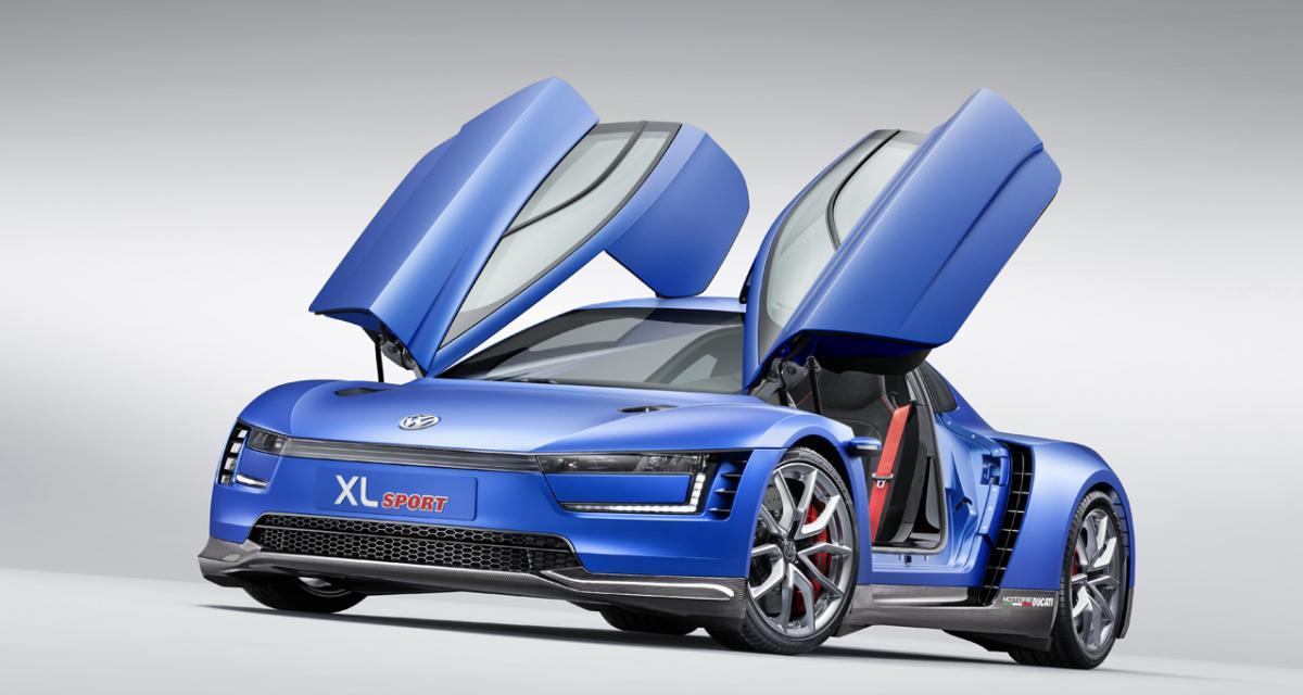 En direct du Mondial de l'Auto : Volkswagen XL Sport