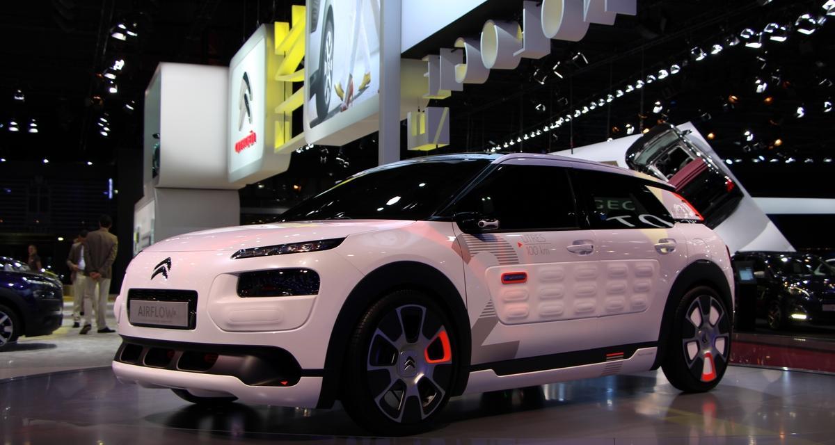 En direct du Mondial de l'Auto : Citroën C4 Cactus Airflow