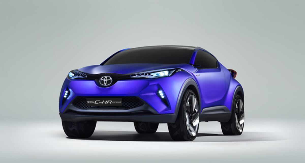 Mondial 2014 : Toyota C-HR Concept