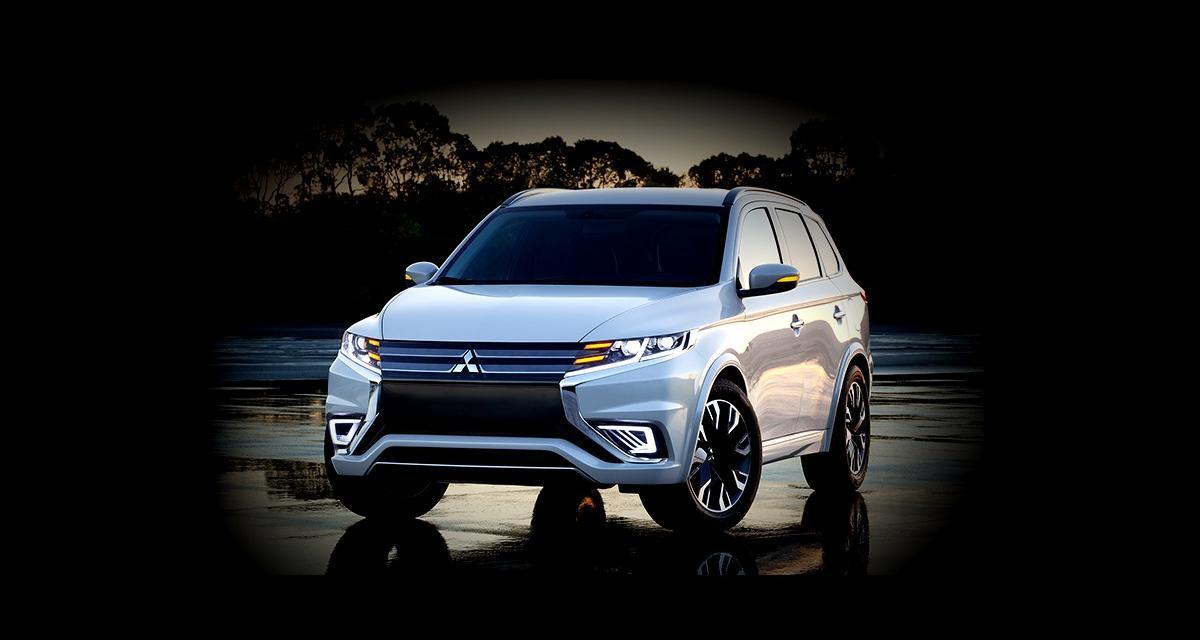 Mondial 2014 : Mitsubishi Outlander PHEV Concept-S