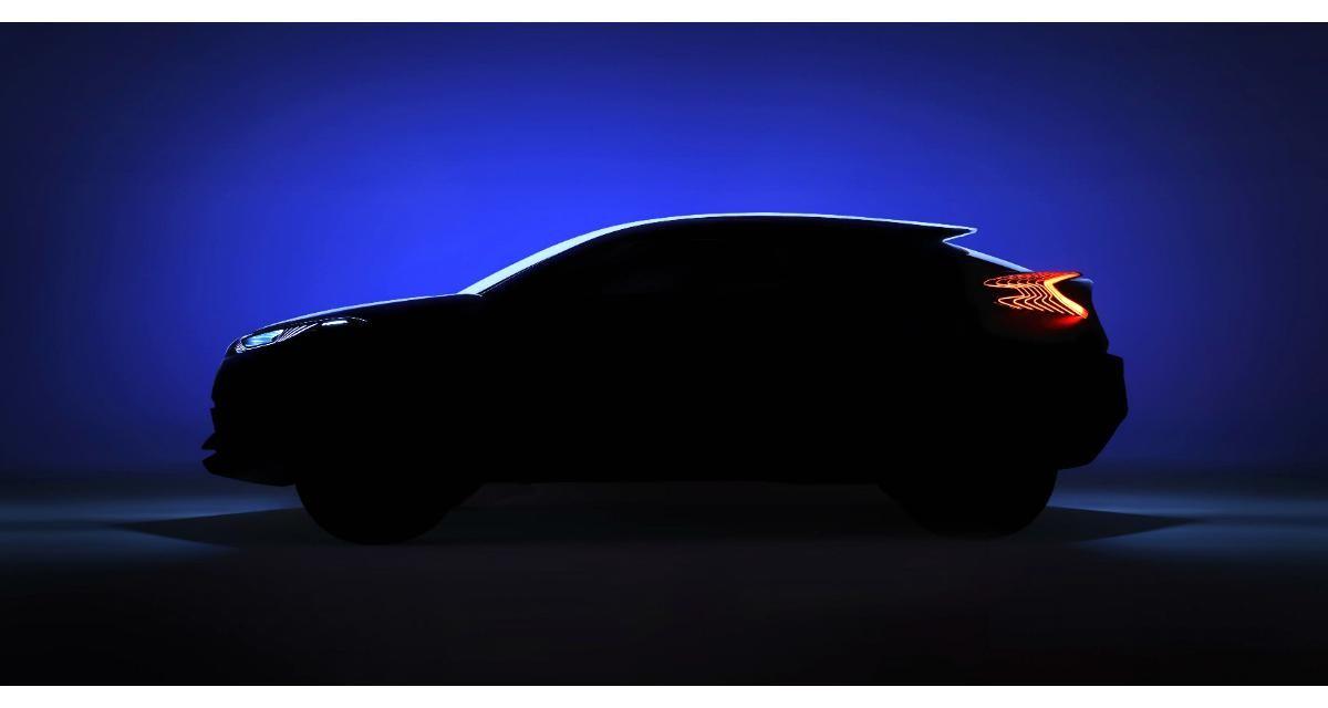 Toyota C-HR concept : un futur crossover compact annoncé au Mondial