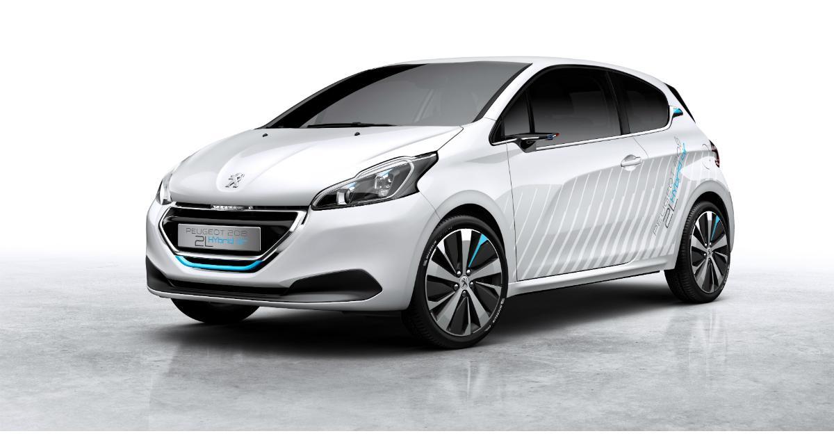 """Peugeot 208 Hybrid Air : un nouveau concept """"2L"""" au Mondial de Paris"""