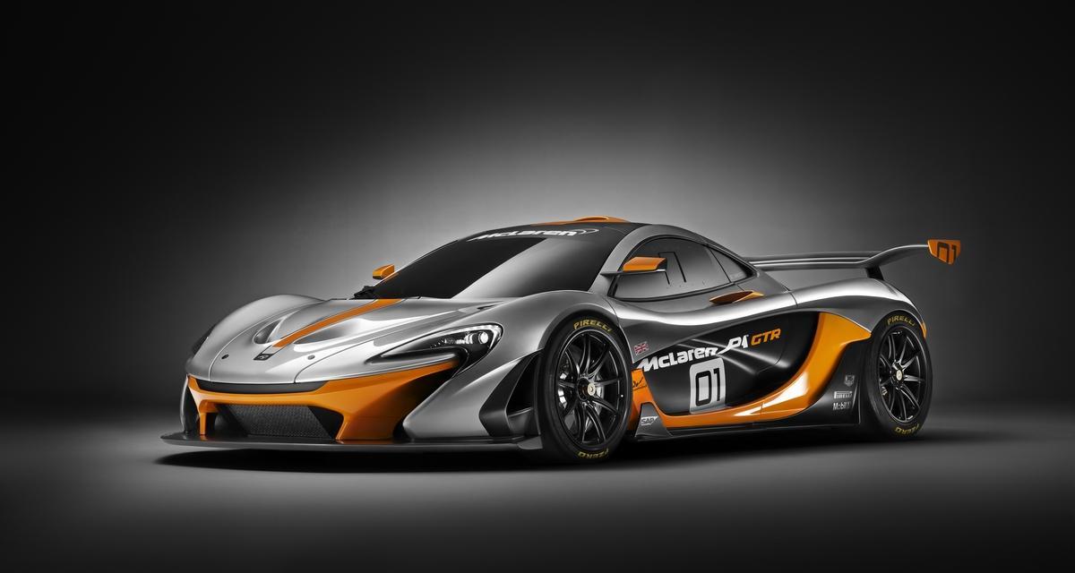 McLaren P1 GTR Design Concept : avis de tempête