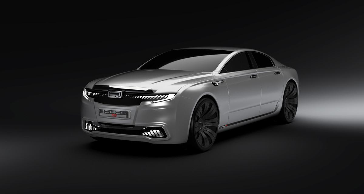 Qoros 9 Sedan Concept : la marque chinoise bientôt sur le marché premium