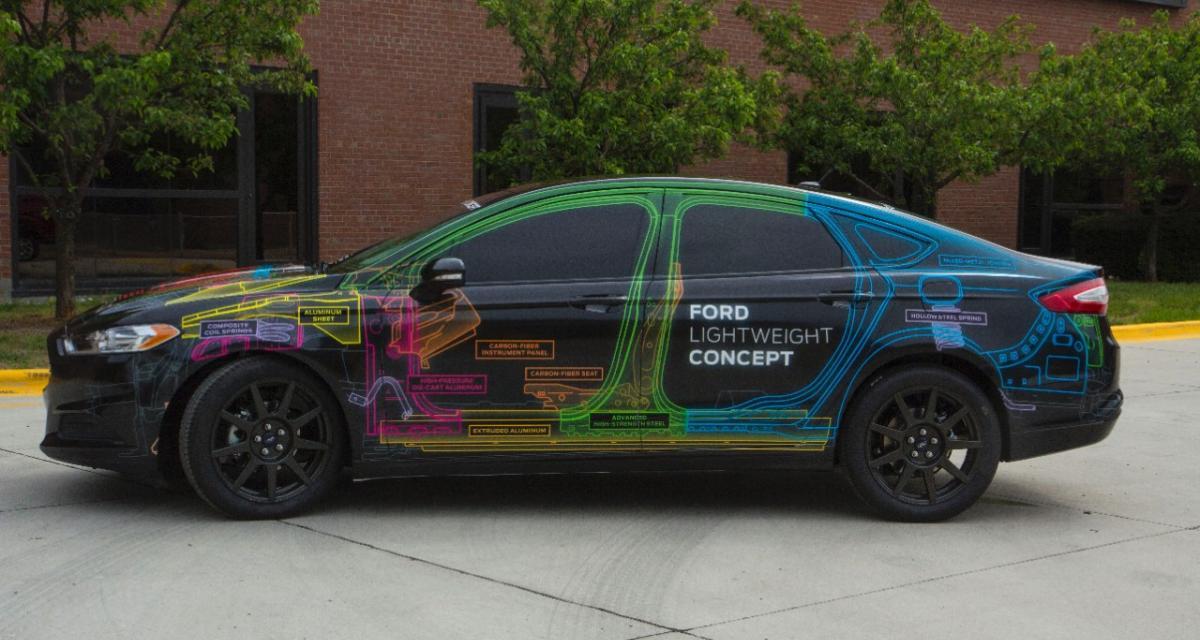 Ford Lightweight Concept : une Fusion à la diète