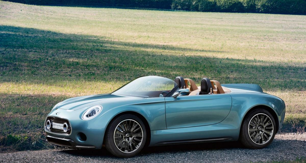 La voiture de la semaine : Mini Superleggera Vision