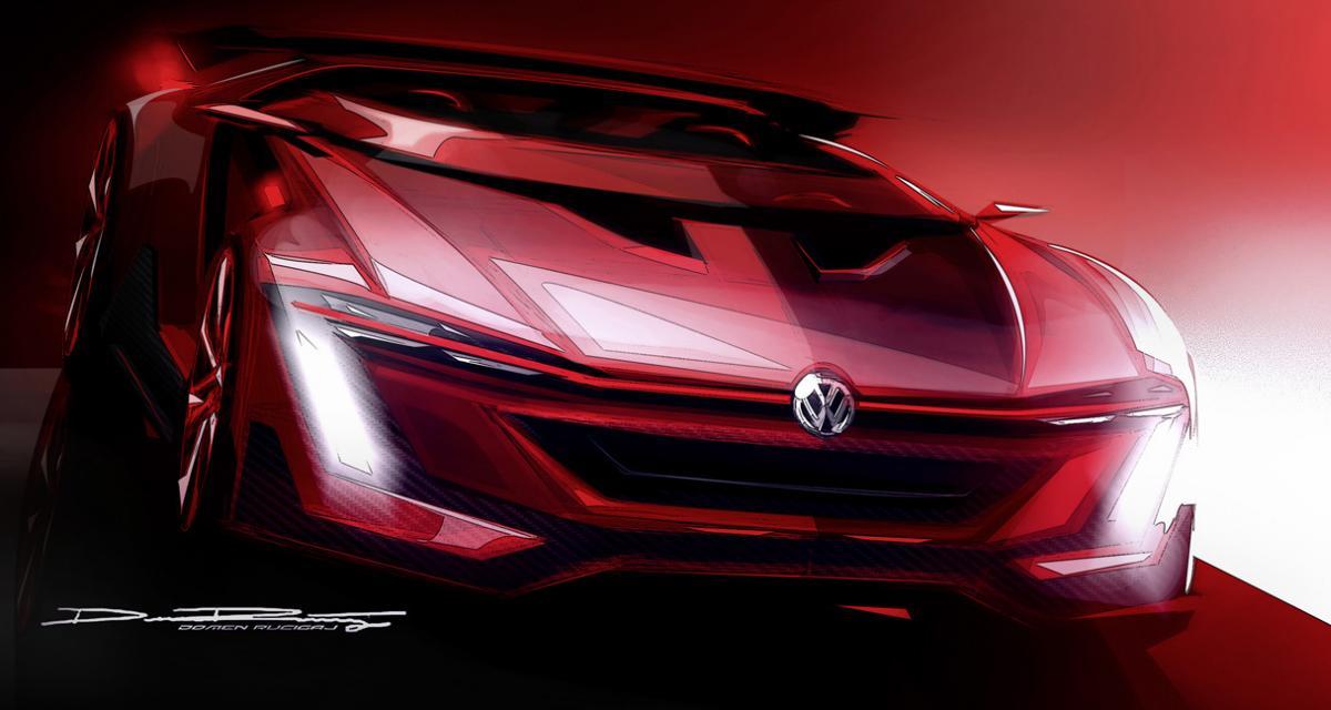 Volkswagen Golf GTI Roadster Vision GT : avec un V6 de 500 ch