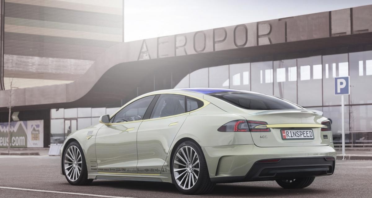 Rinspeed XchangE Concept : la Tesla Model S survoltée
