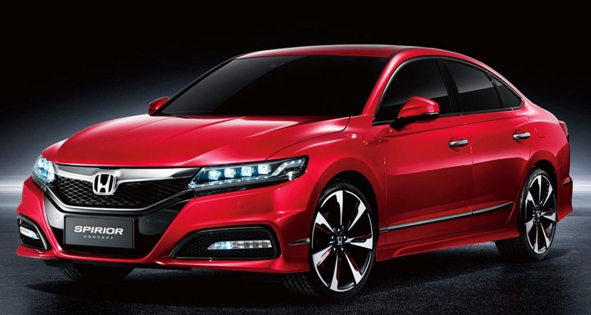 Honda Spirior Concept : bientôt la nouvelle Accord ?