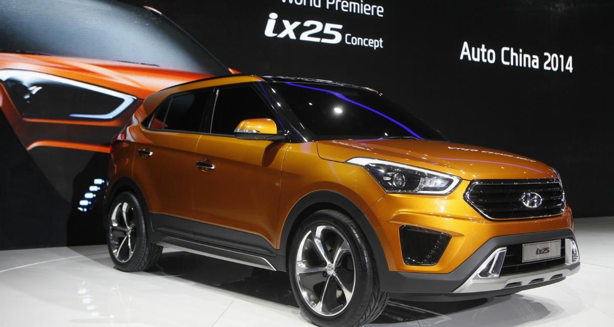 Hyundai ix25 concept : nouveau crossover compact à Pékin
