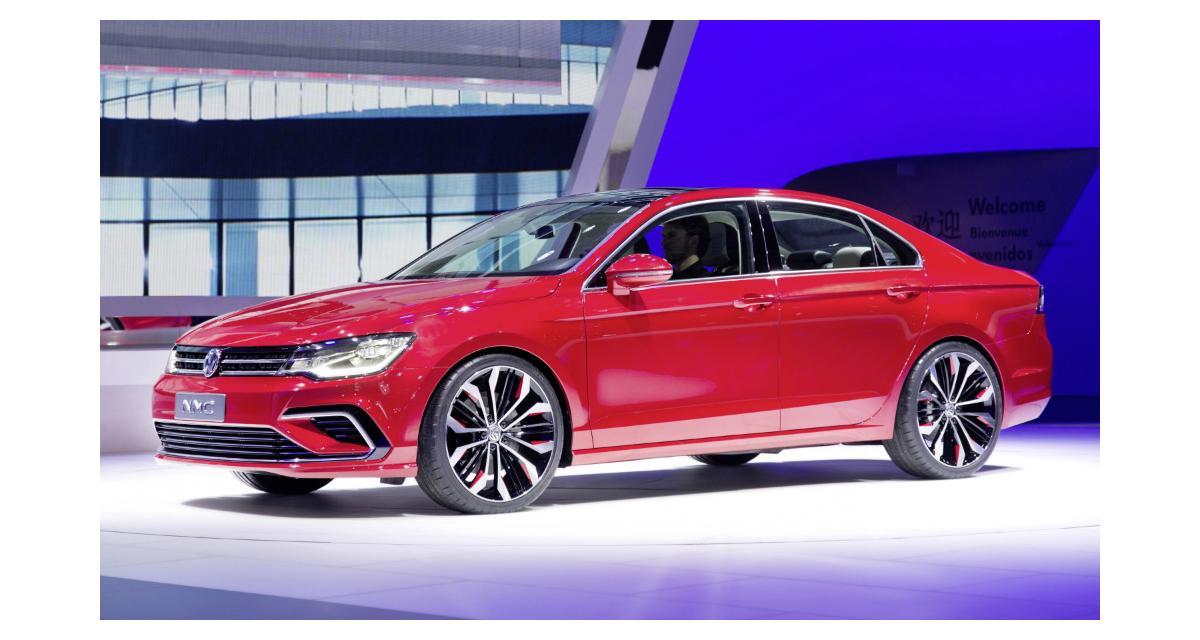Volkswagen New Midsize Coupé : la future Jetta à Pékin