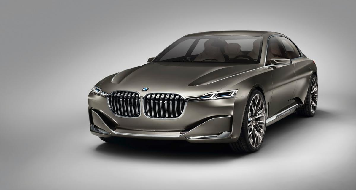 BMW Vision Future Luxury : la future Série 7 en filigrane