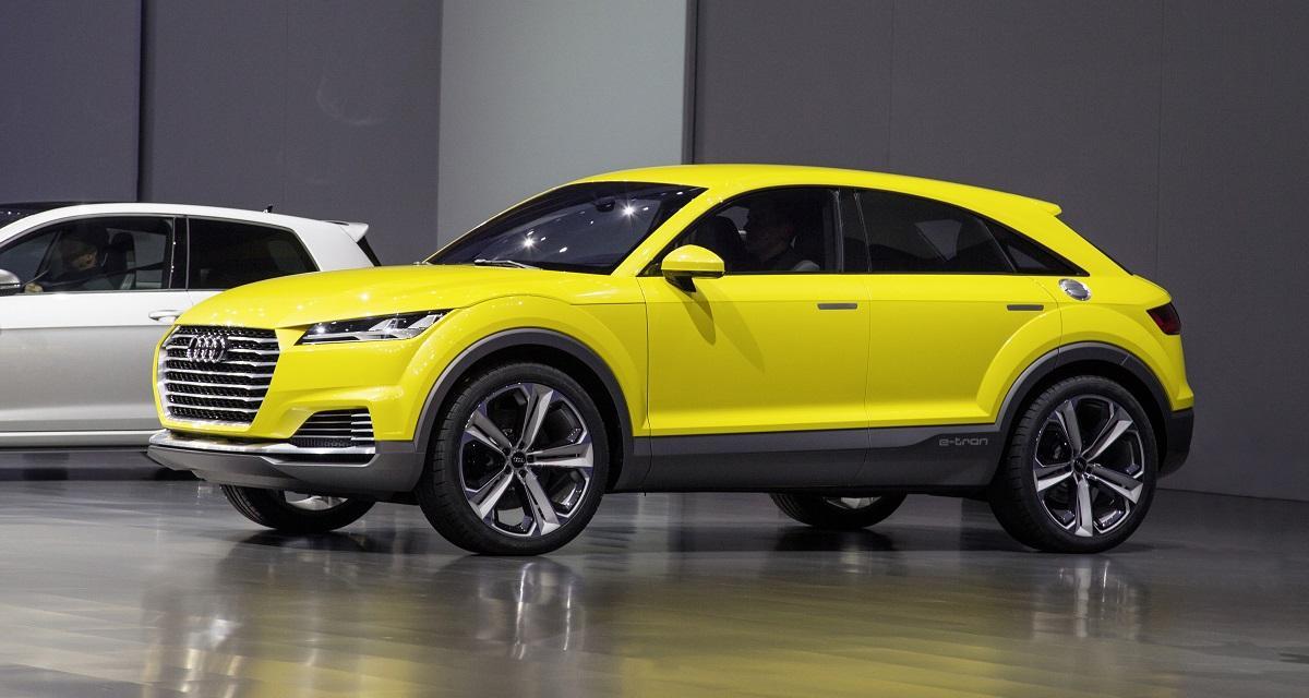 Audi TT Offroad Concept : quand TT signifie Tout-Terrain