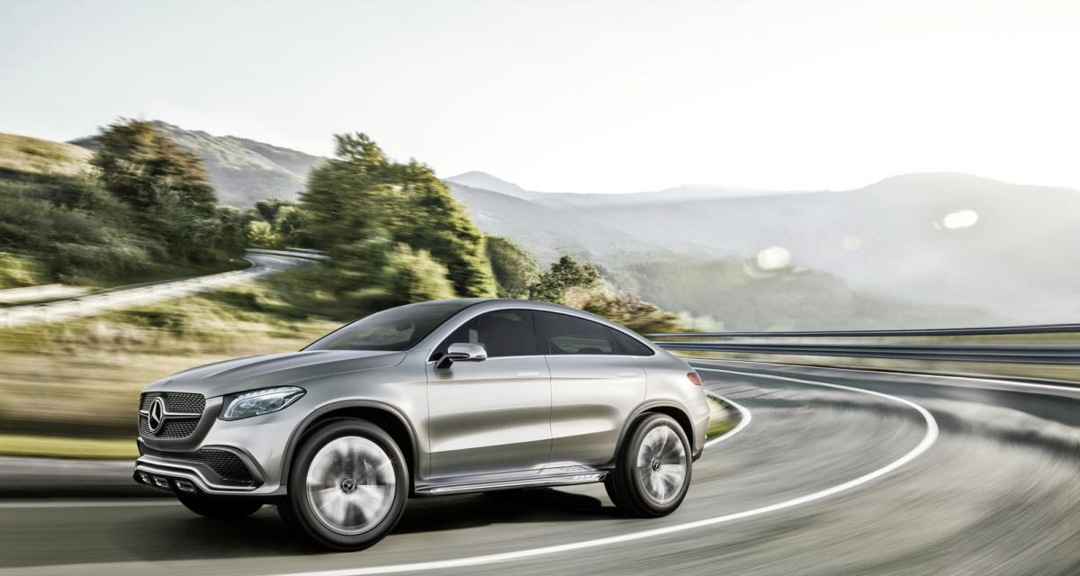 Mercedes Concept Coupé SUV : le BMW X6 dans le collimateur