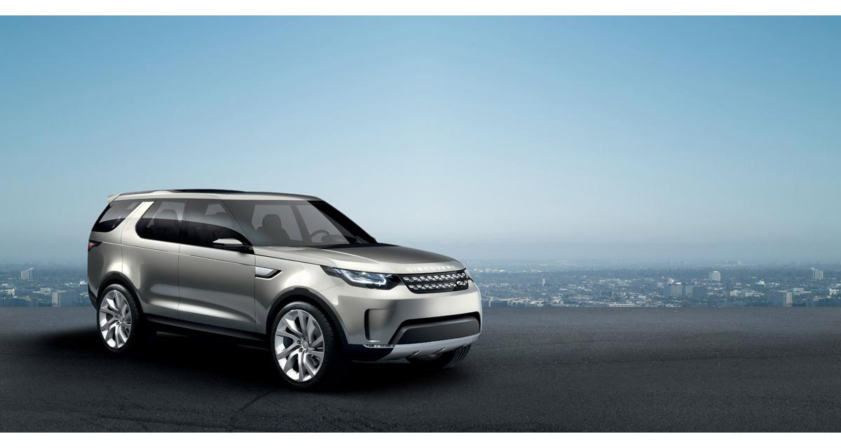 Land Rover Discovery Vision Concept (New York 2014)