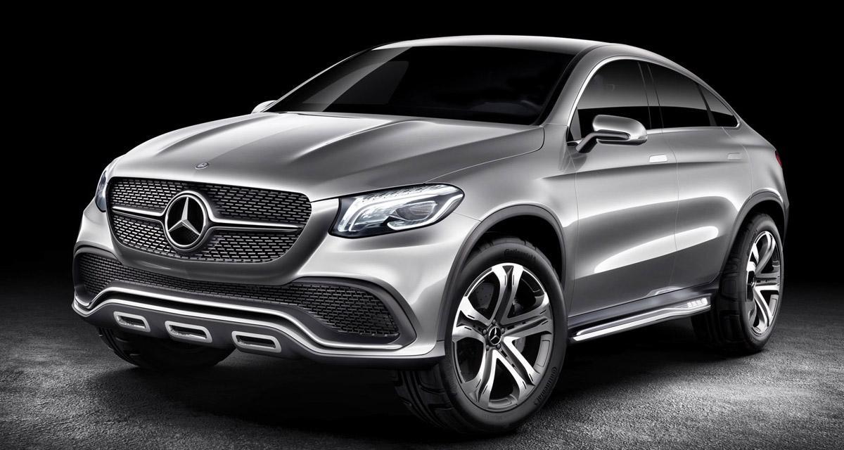 Mercedes : bientôt une riposte au BMW X6