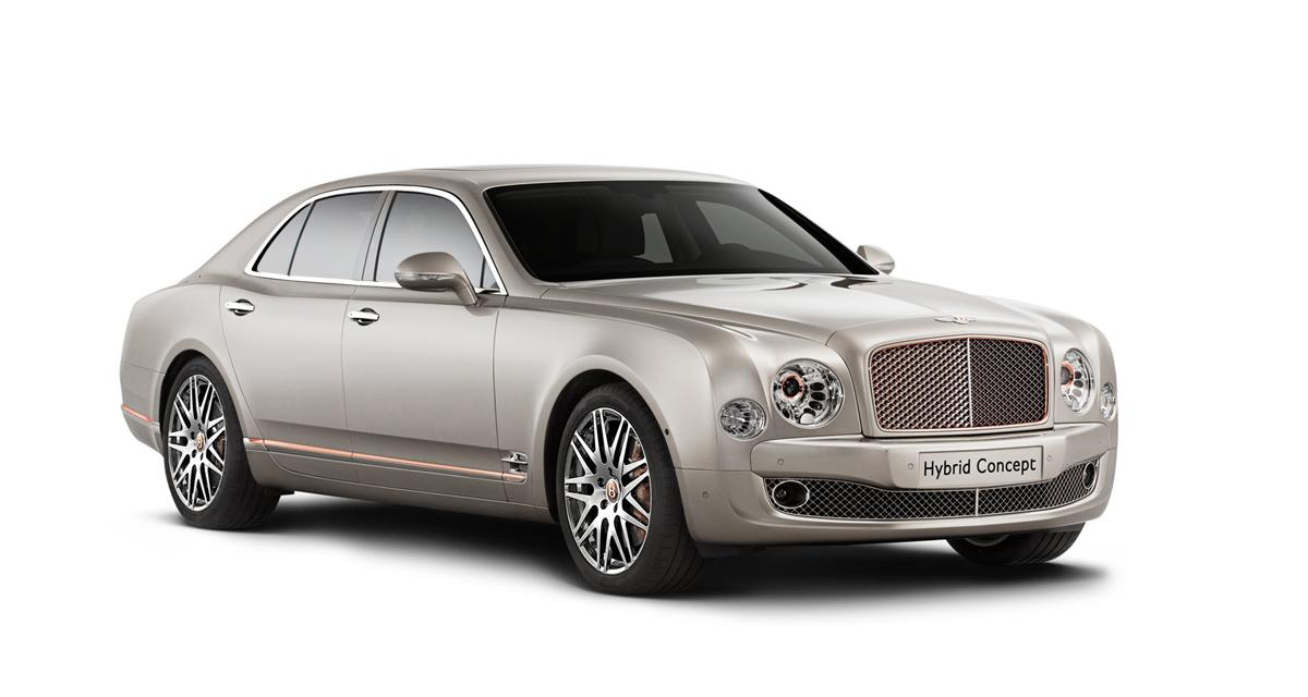 Bentley Hybrid Concept : une limousine hybride rechargeable