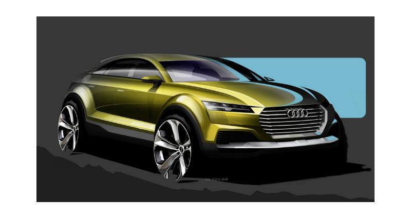 Audi Q4 : un crossover sur base de TT à Pékin