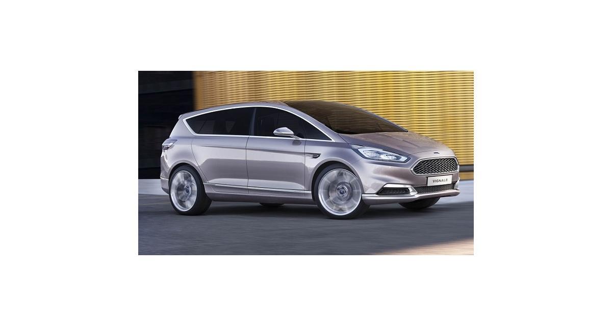 Ford S-Max Vignale Concept : le monospace haute-couture