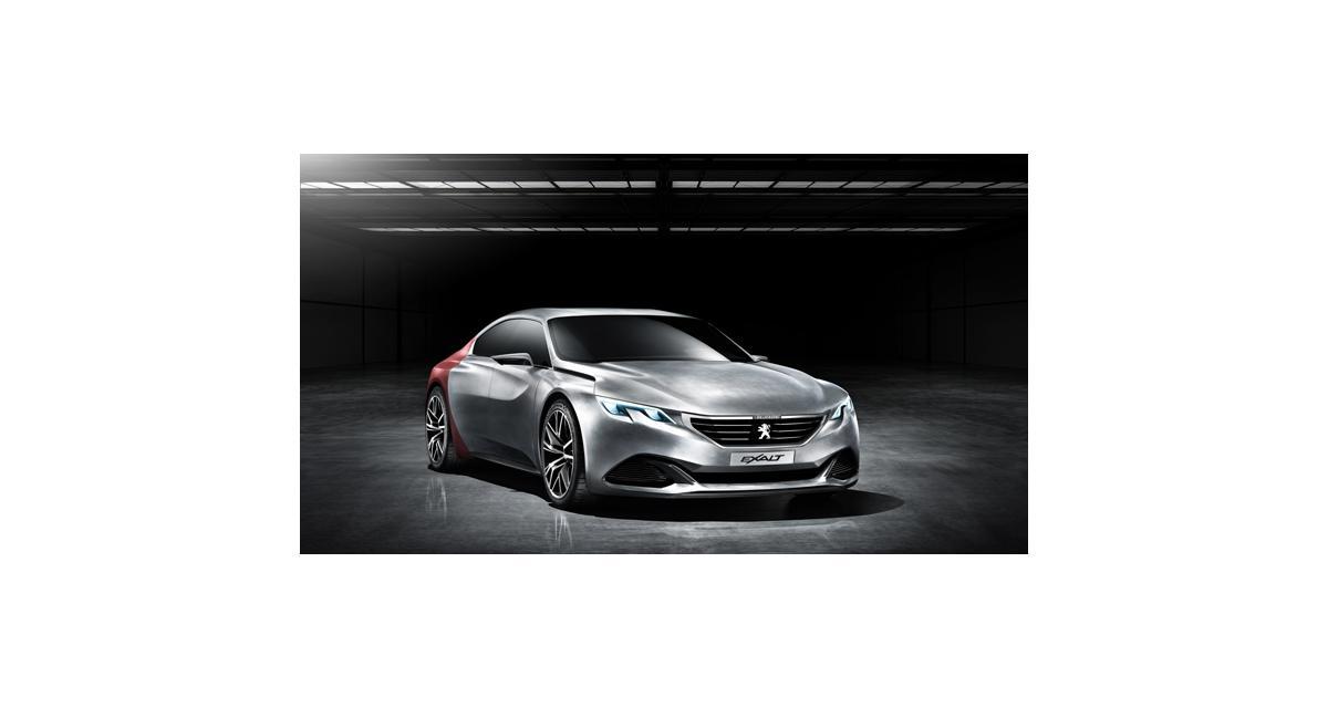Peugeot Exalt : le concept car dévoilé à Pékin